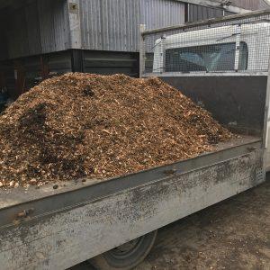Woodchip load